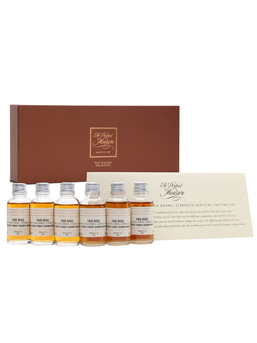 Four Roses Barrel Small Batch Limited Edition Bourbon Tasting Set / 6x3cl