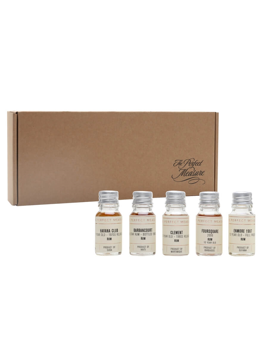 Introduction to Old & Rare Rum Tasting Set / Rum Show 2021 / 5x1cl