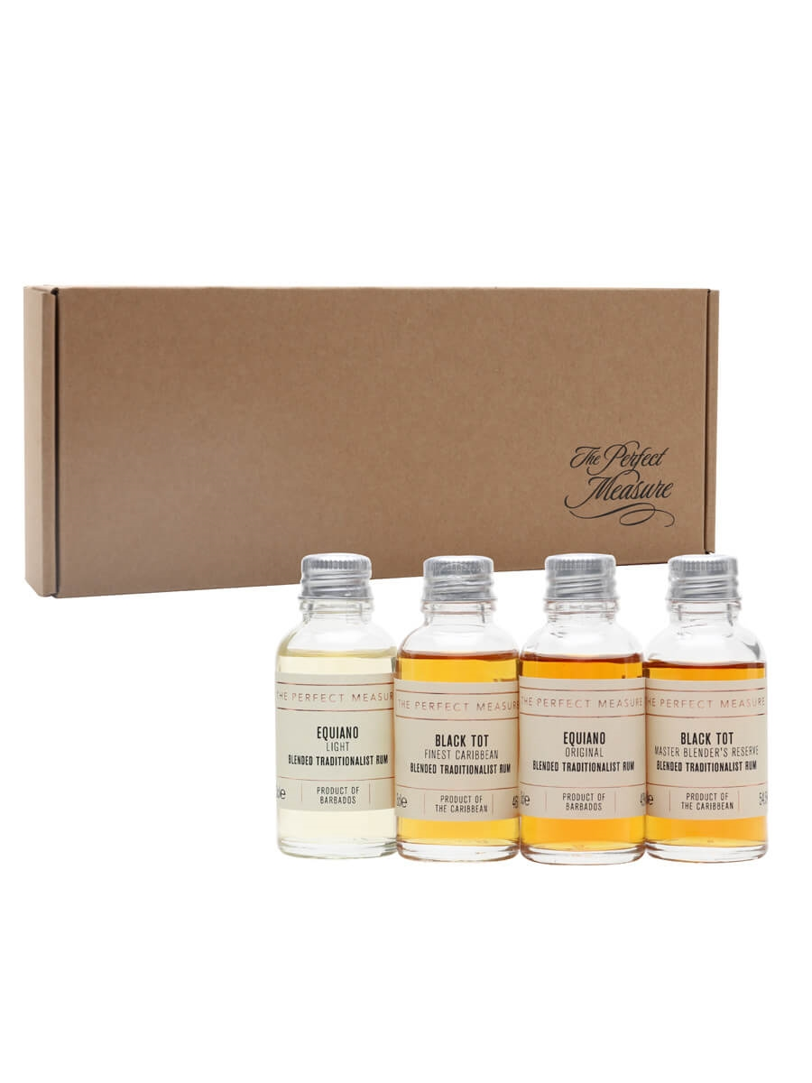 How Blends Come Together Rum Tasting Set / Rum Show 2021 / 4x3cl