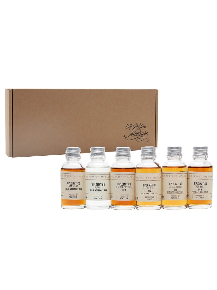 Diplomatico:  Distillery Collection Tasting Set / Rum Show 2021 / 6x3cl