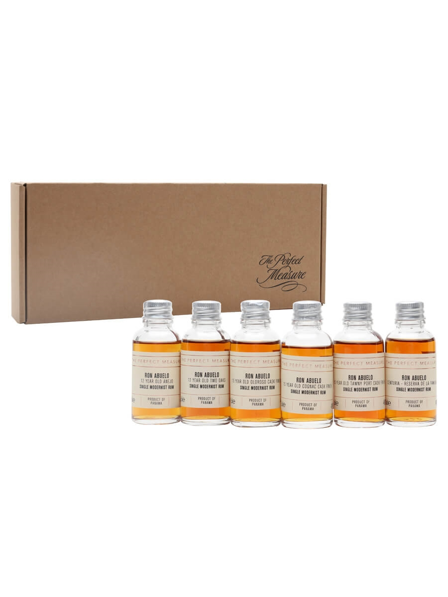 Ron Abuelo Tasting Set / Rum Show 2021 / 6x3cl