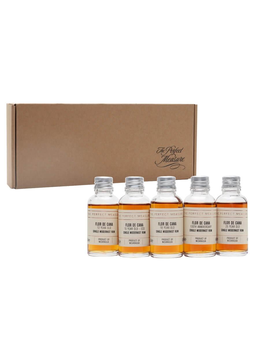 Flor de Cana Rum Tasting Set / Rum Show 2021 / 5x3cl