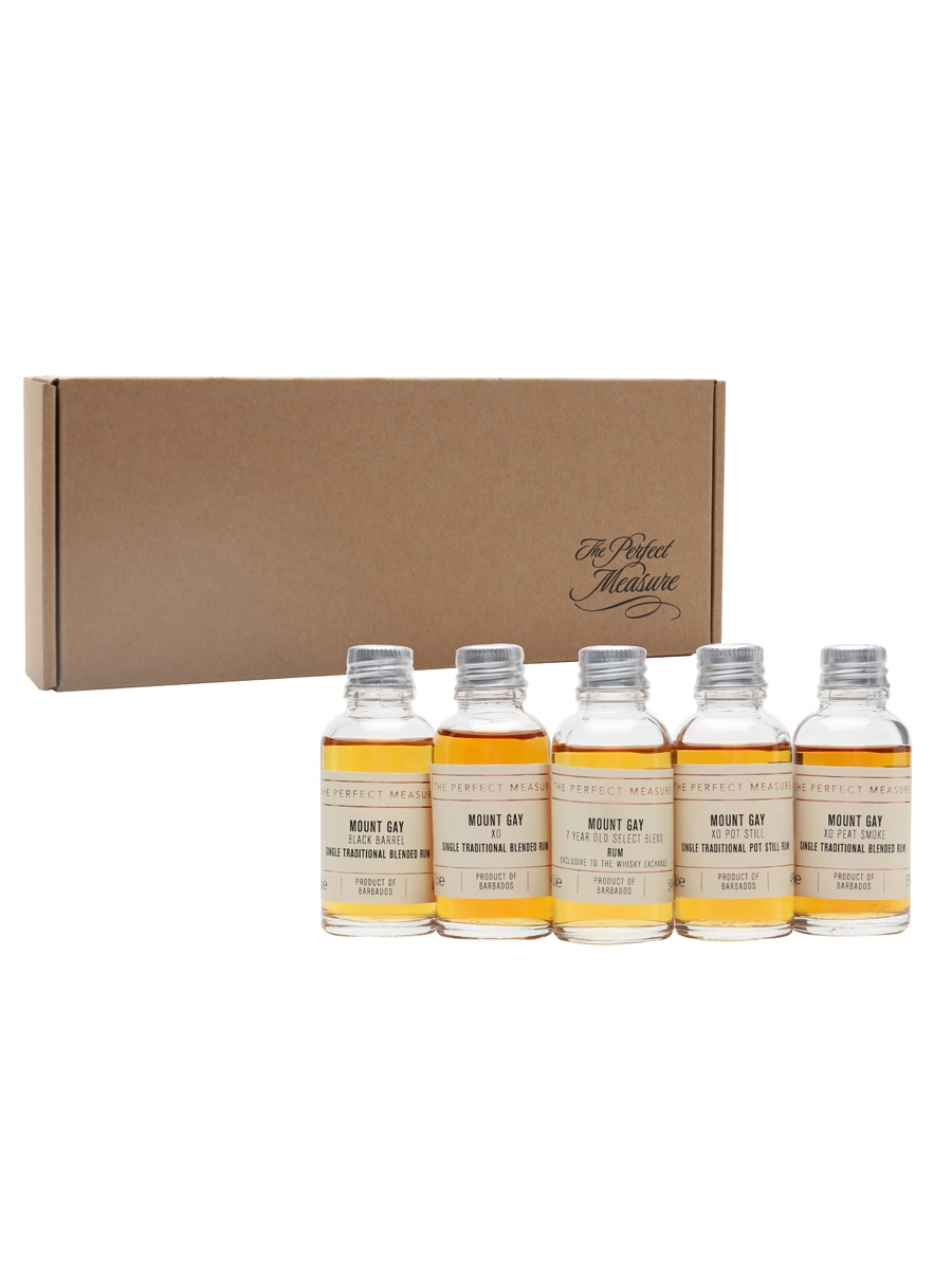 Mount Gay: More Than a Rum Tasting Set / Rum Show 2021 / 5x3cl