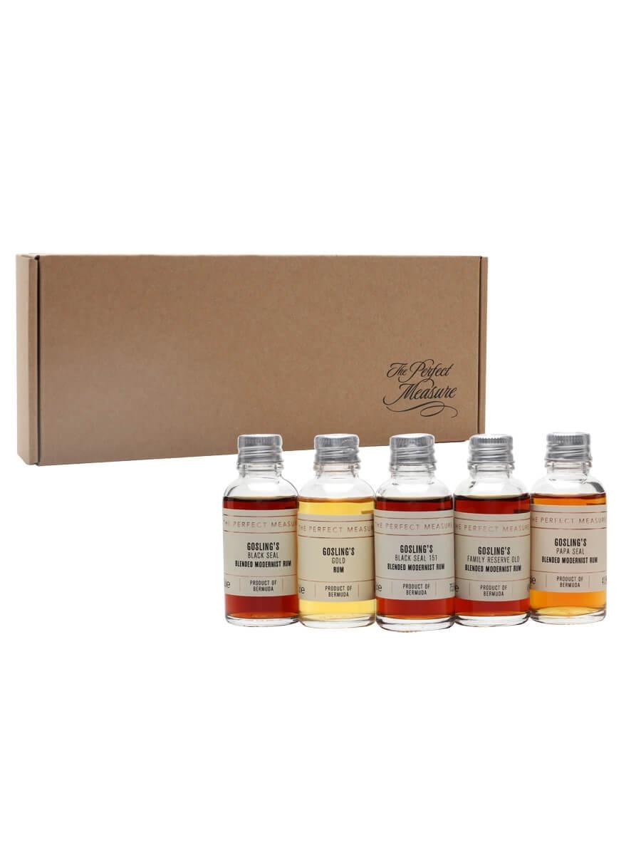 Goslings Rum Tasting Set / Rum Show / 5x3cl