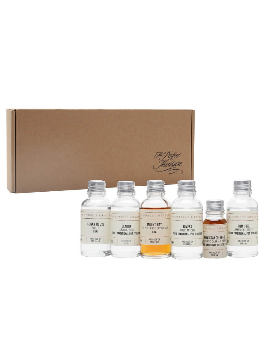 Four Amigos and Future of Rum Classification Tasting Set / 5x3cl + 1x1cl