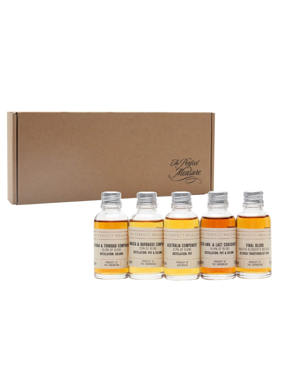Black Tot Day: 24 Hours 1st Anniversary Tasting Set / Rum Show 2021 / 5x3cl