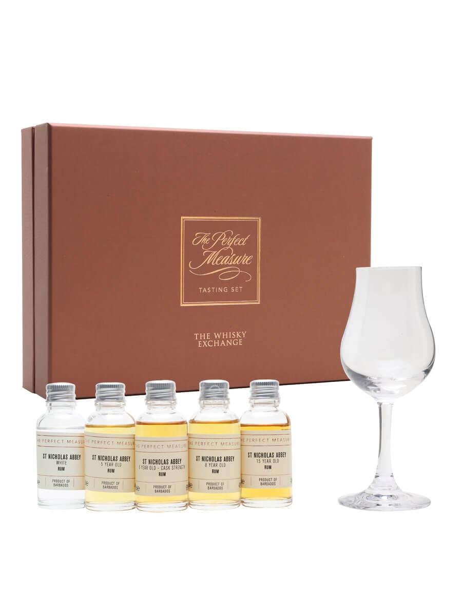 St Nicholas Abbey Rum Tasting Set / 5x3cl