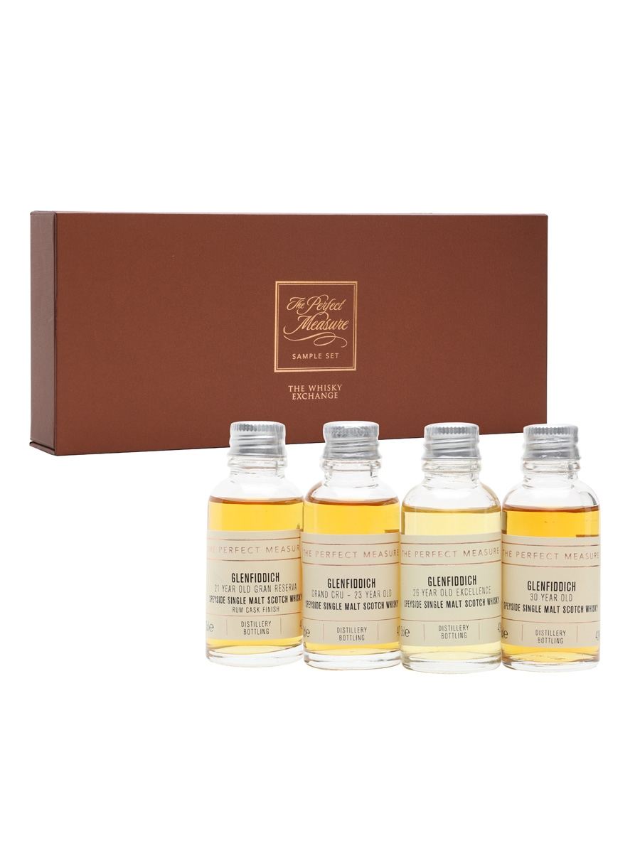 Glenfiddich: Exploration of An Icon Tasting Set / 4x3cl
