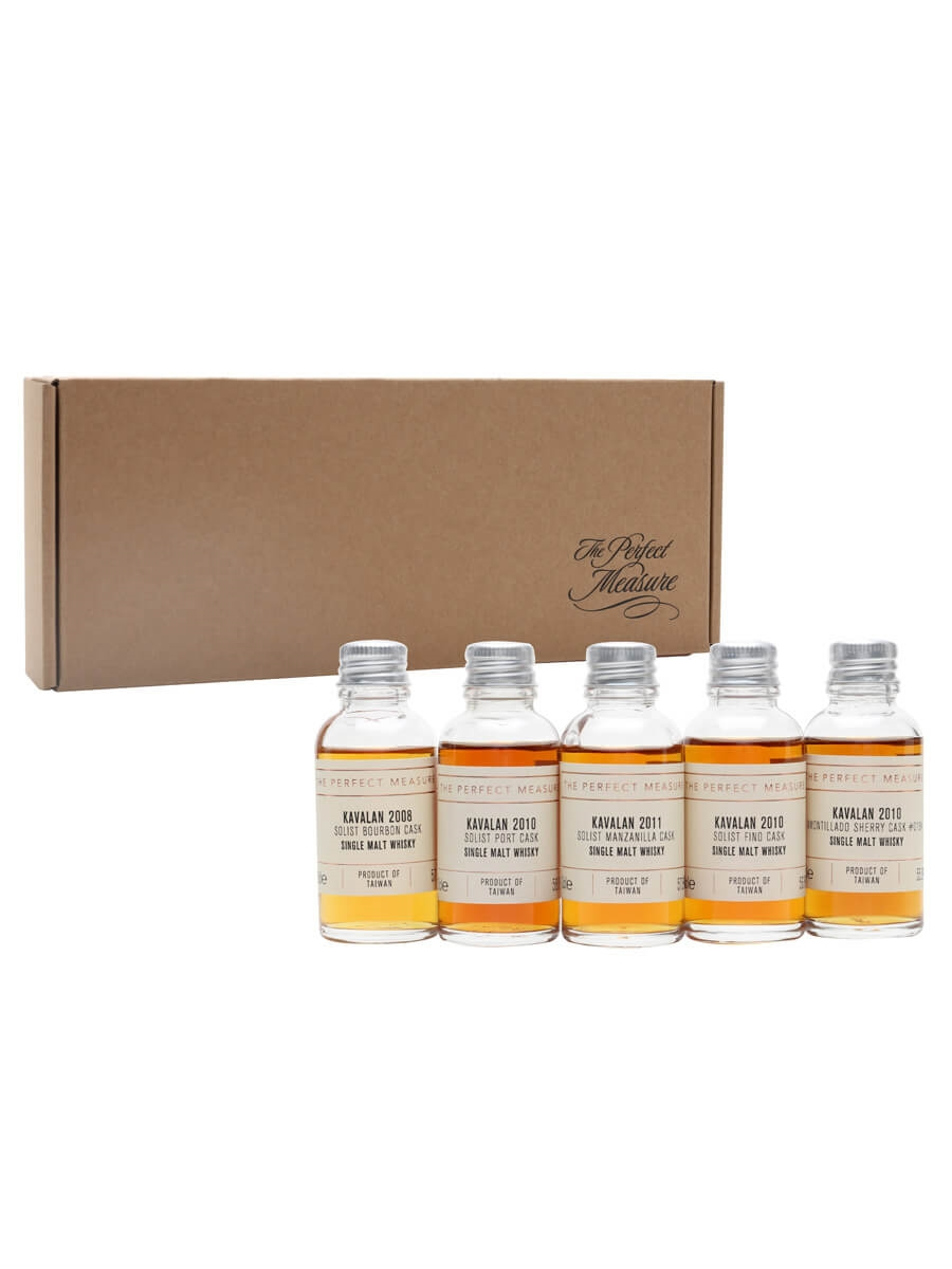 Rare and Unique Whiskies from Kavalan Tasting Set / Whisky Show 2021 / 6x3cl