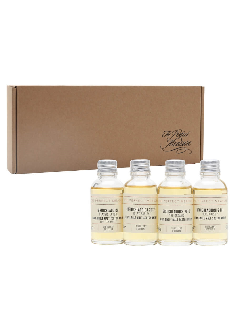 Bruichladdich: Our Story of Barley Tasting Set / Whisky Show 2021 / 4x3cl