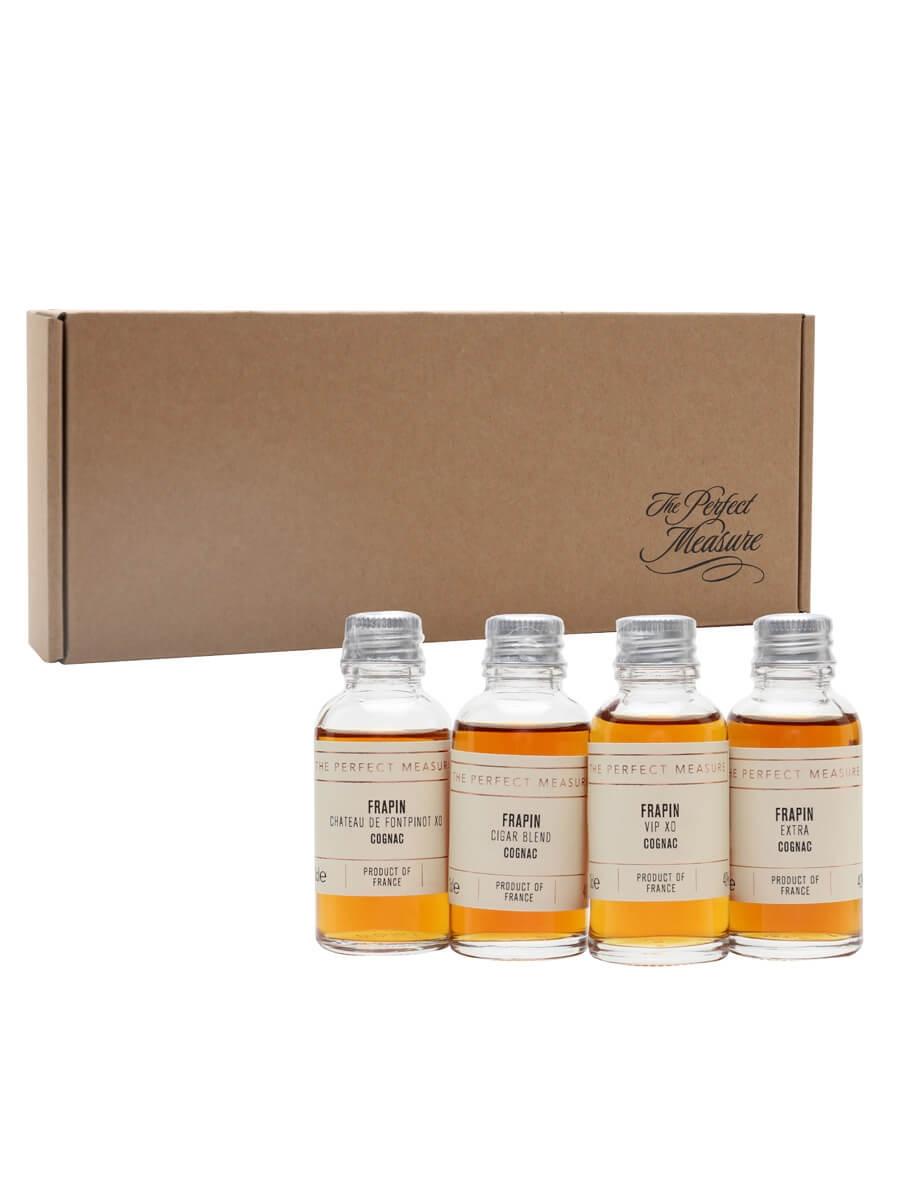 Frapin Cognac Tasting Set / Whisky Show 2021 / 4x3cl