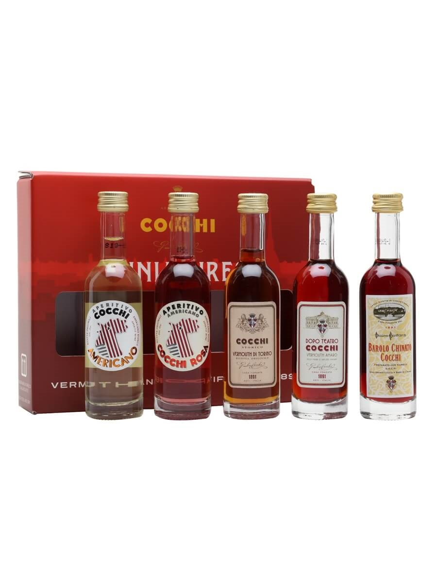 Cocchi with Roberto Bava Tasting Set / Whisky Show 2021 / 5x5cl