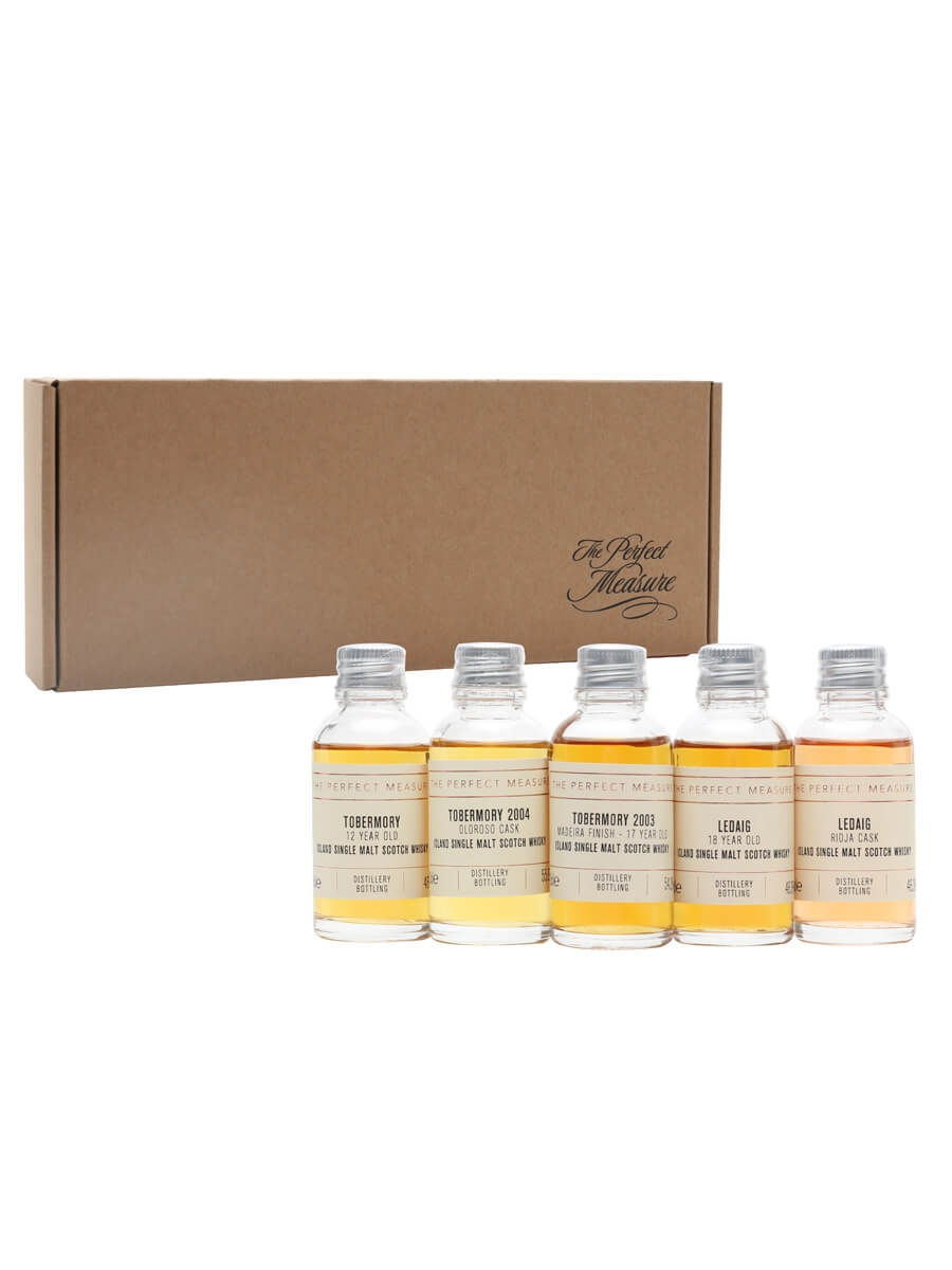 Tobermory Tasting Set / Whisky Show 2021 / 5x3cl