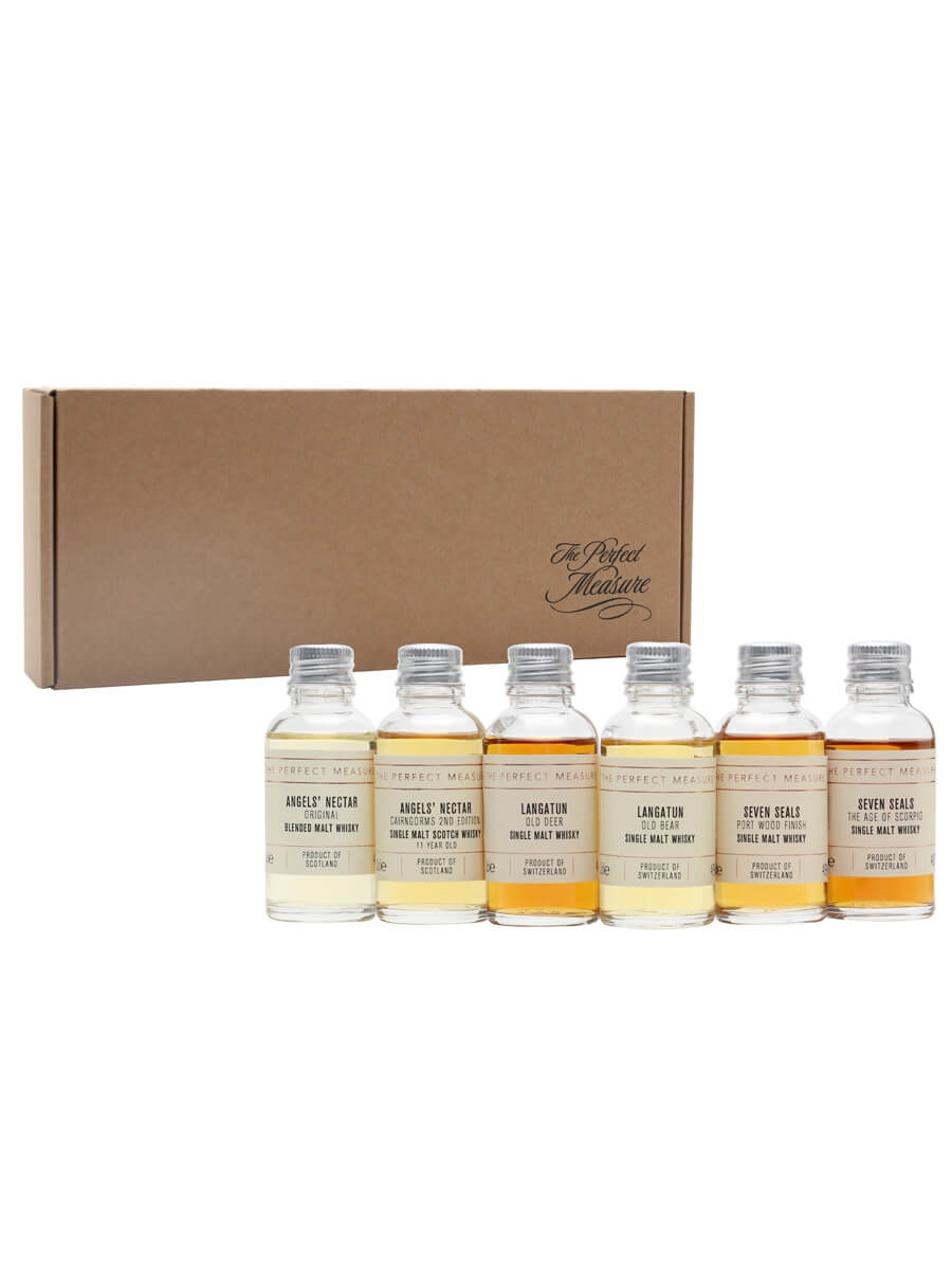 Scotch and Swiss Whisky Tasting Set / Whisky Show 2021 / 6x3cl