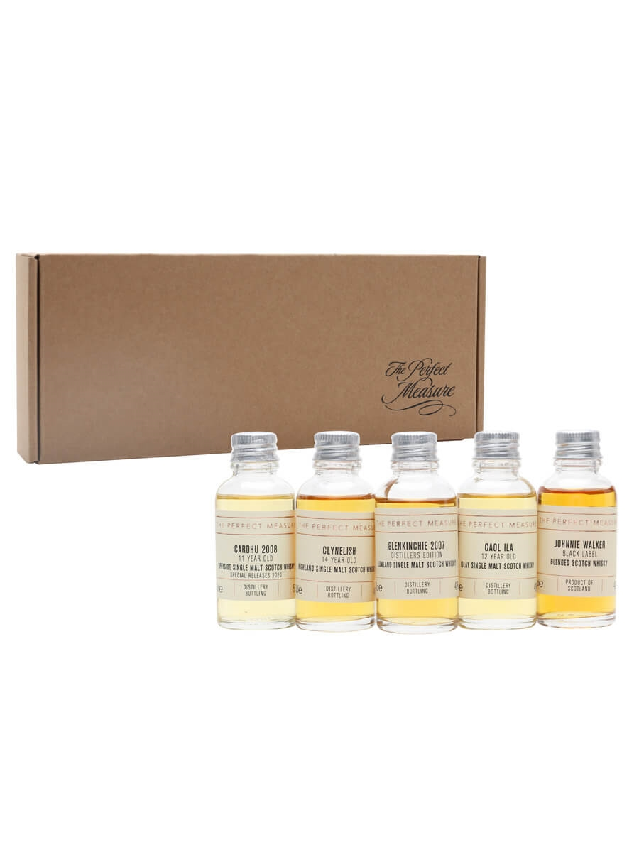 The Four Corners of Johnnie Walker Tasting Set / Whisky Show 2021 / 5x3cl