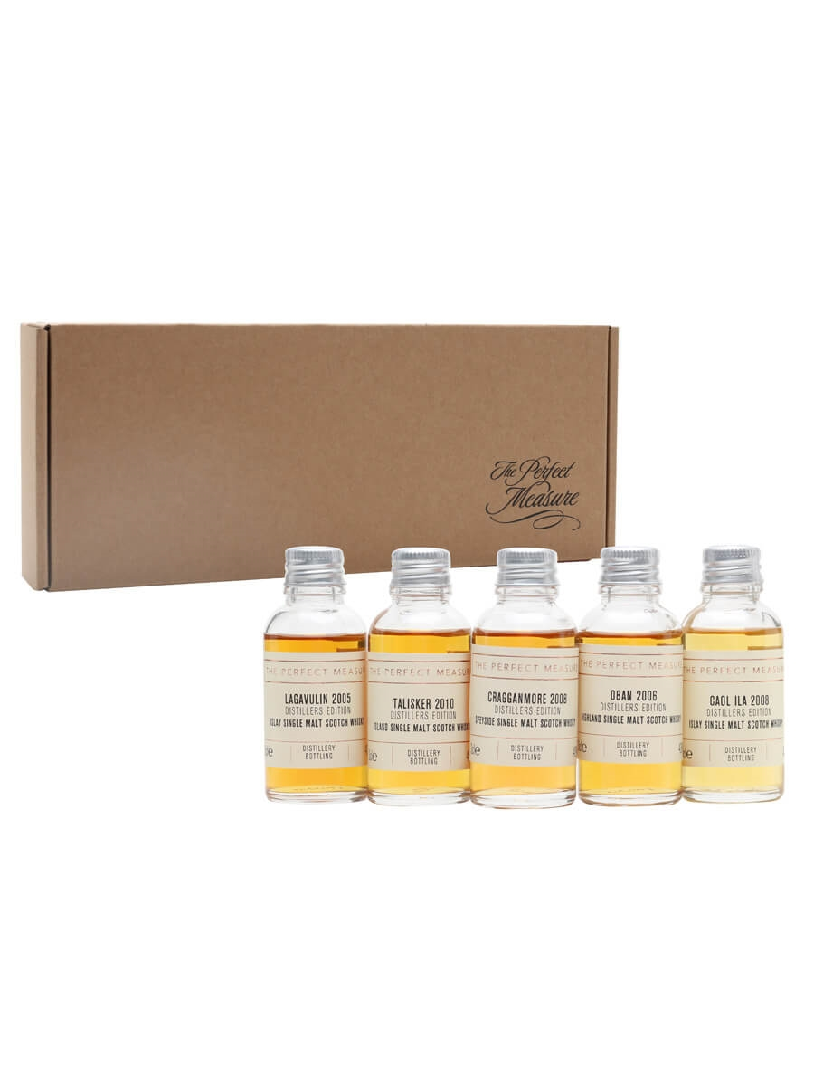 Distillers Editions Tasting Set / Whisky Show 2021 / 5x3cl