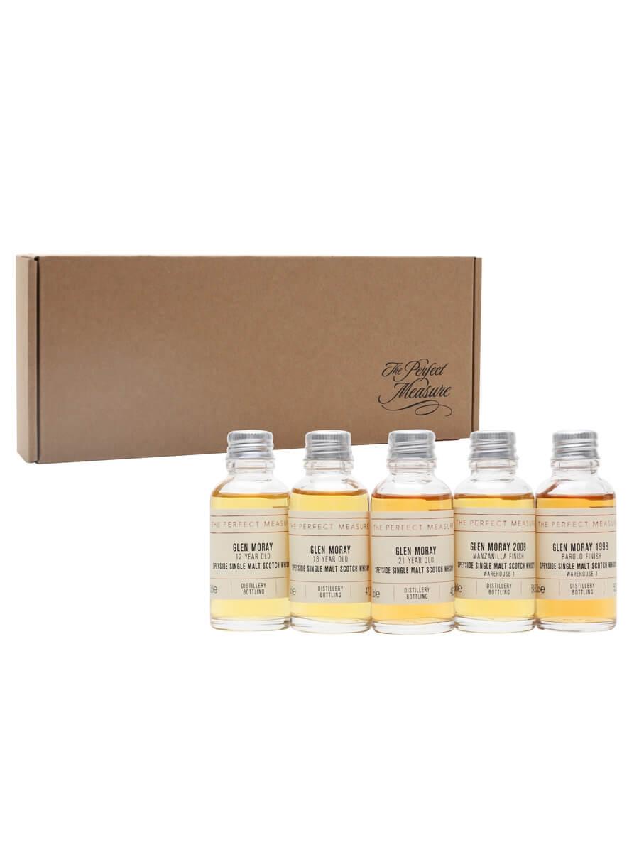 Glen Moray Tasting Set / Whisky Show 2021 / 5x3cl