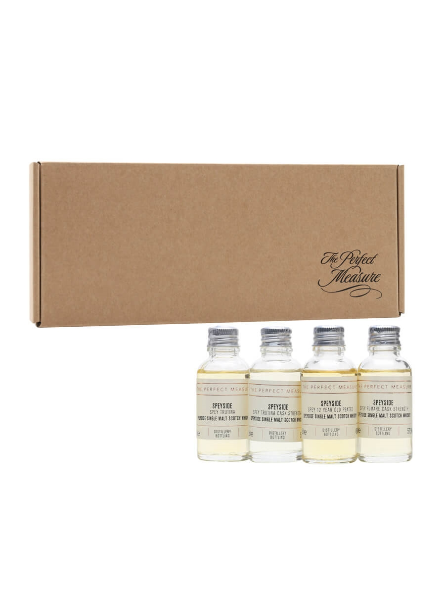 SPEY Limited Editions Tasting Set / Whisky Show 2021 / 4x3cl