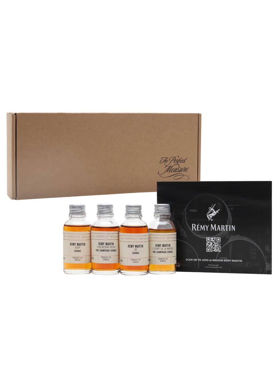Rémy Martin Discovery Box  / Whisky Show 2021 / 4x3cl