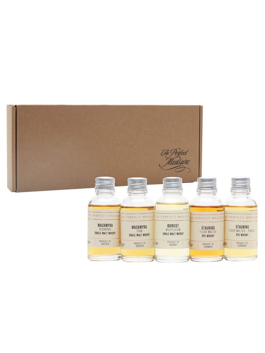 Cool Climate Whiskies Tasting Set / Whisky Show 2021 / 5x3cl
