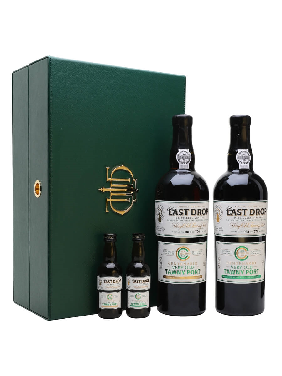 Last Drop Distillers Centenario 1870 & 1970 Tawny Port