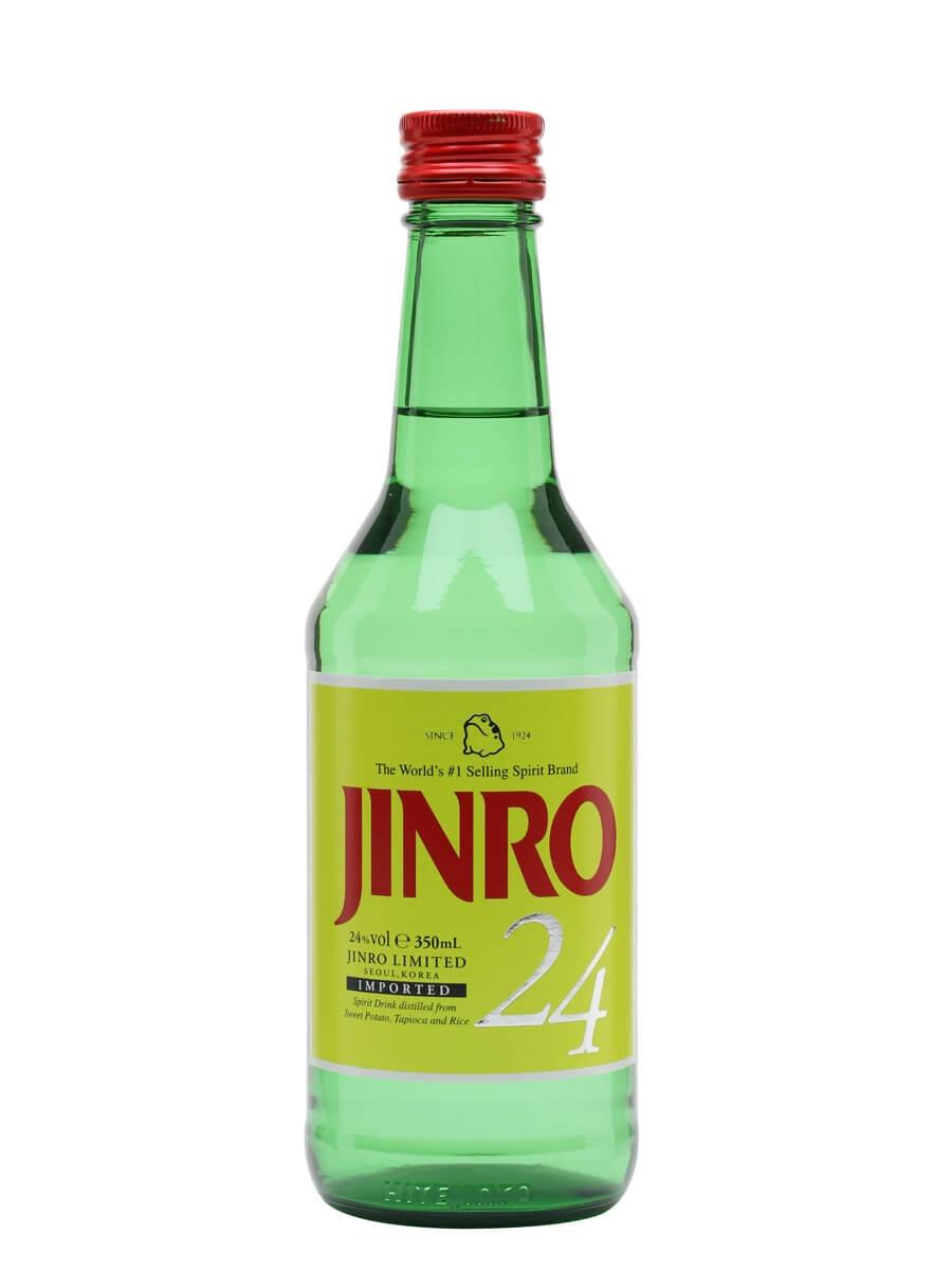 Jinro 24 Soju / Half Bottle