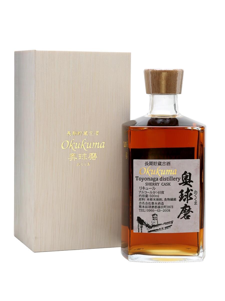 Toyonaga Okokuma Sherry-Cask-Aged Shochu