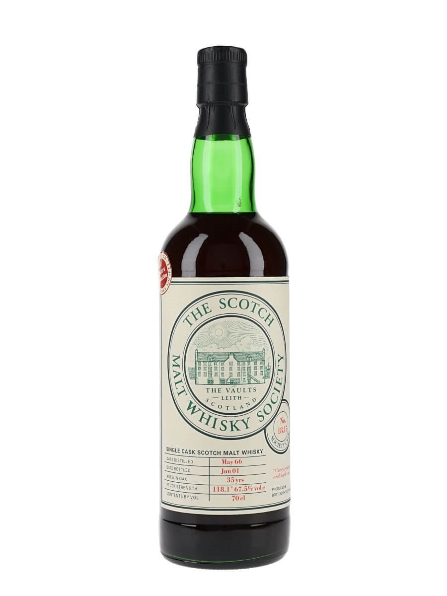 SMWS 18.15 (Inchgower) / 1966 / 35 Year Old / Sherry Cask