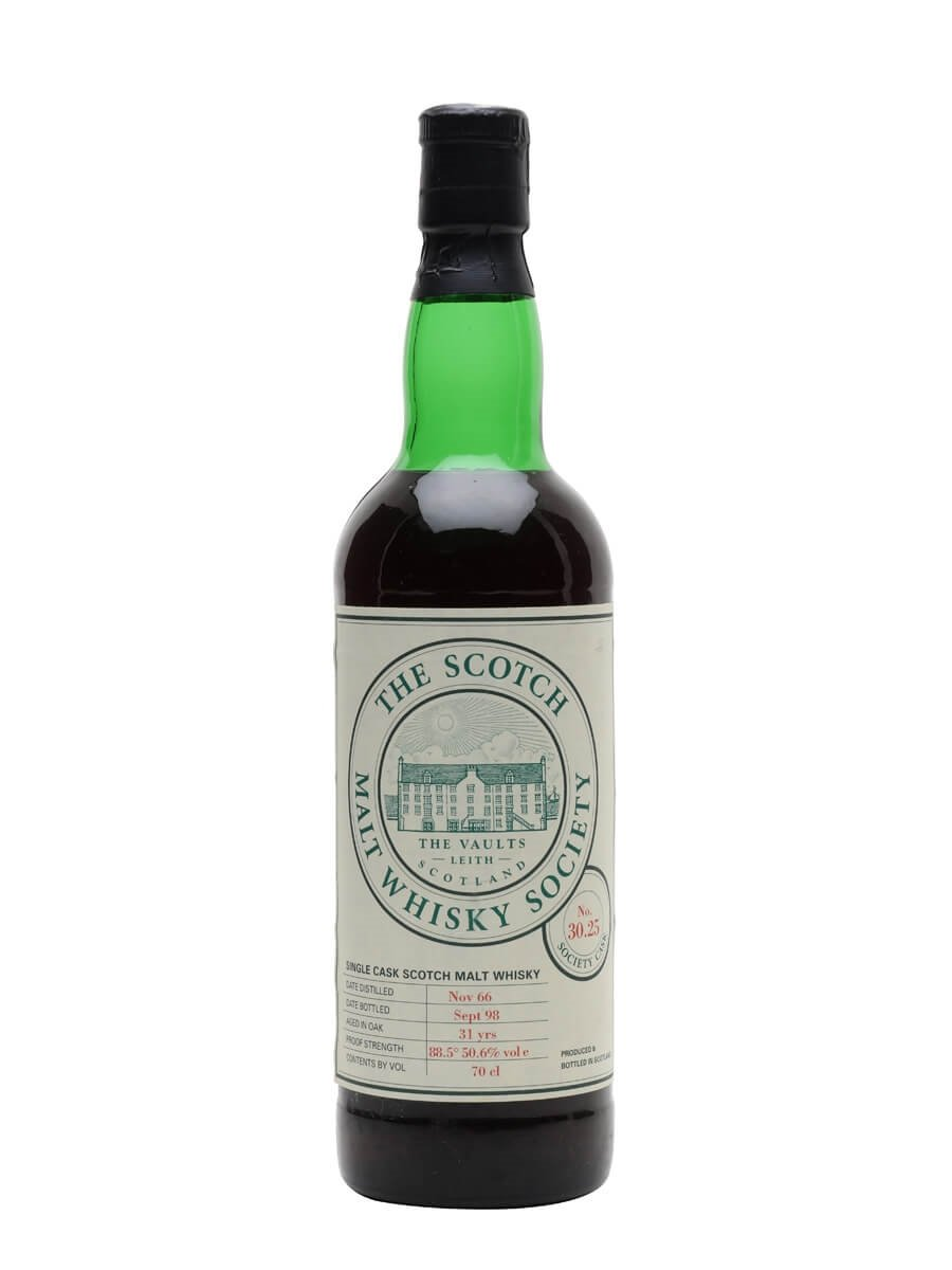 SMWS 30.25 (Glenrothes) / 1966 / 31 Year Old / Sherry Cask