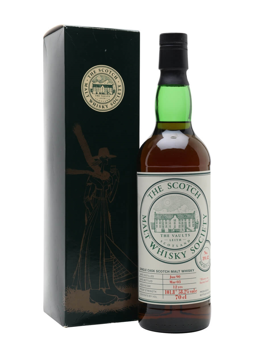 SMWS 39.42 (Linkwood) / 1990 / 12 Year Old / Sherry Cask