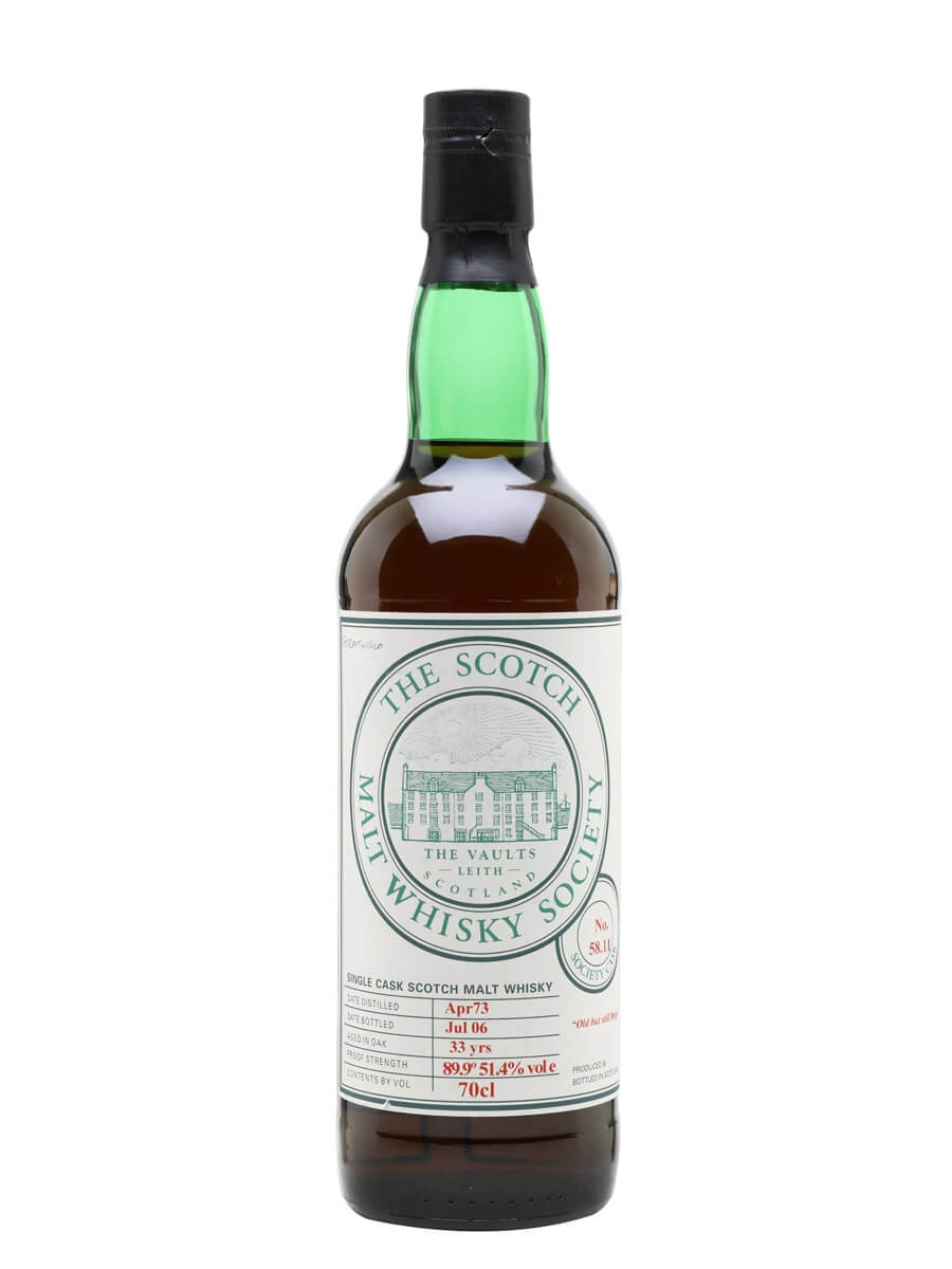 SMWS 58.11 (Strathisla) / 1973 / 33 Year Old / Sherry Cask