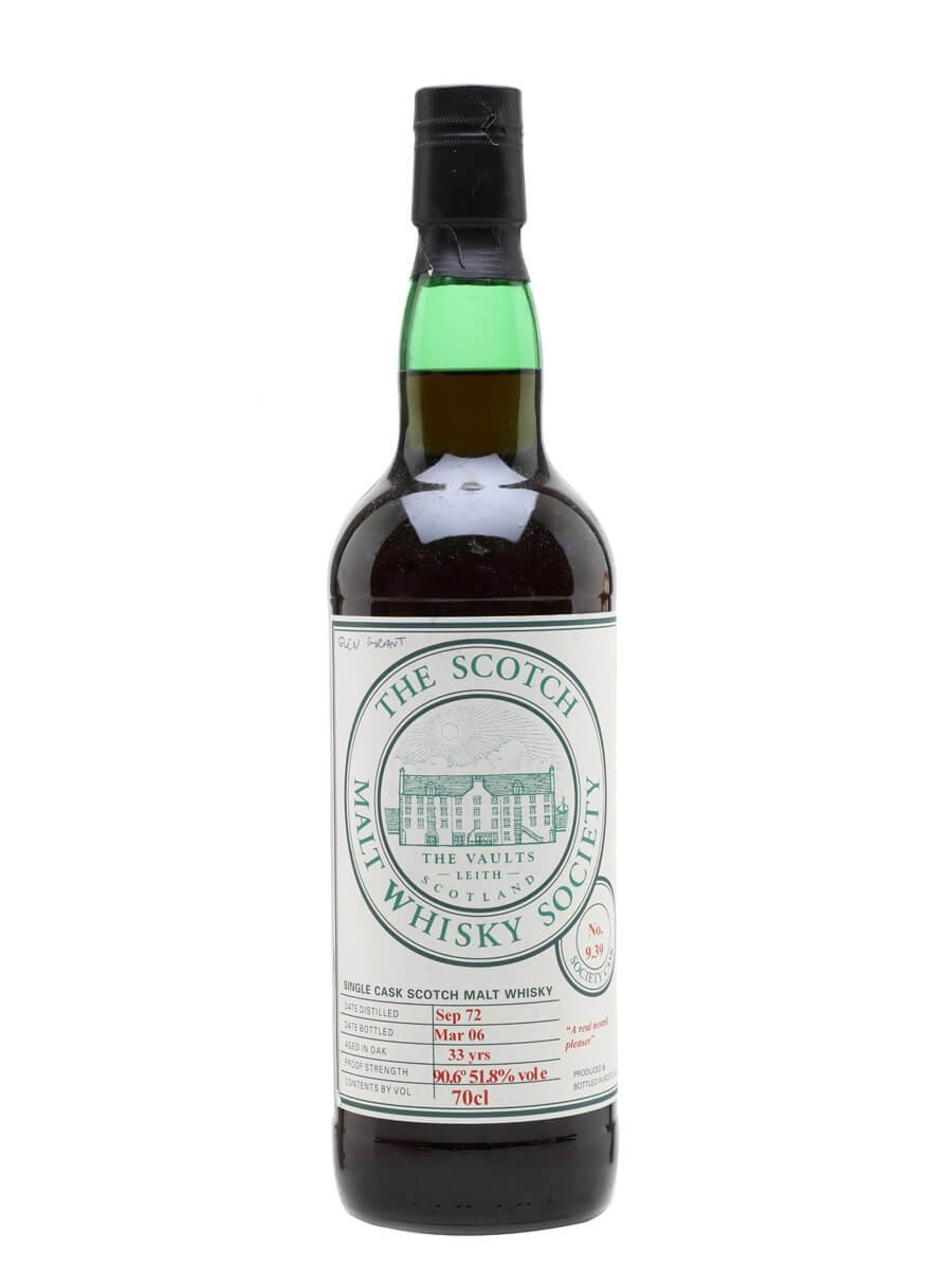 SMWS 9.39 (Glen Grant) / 1972 / 33 Year Old