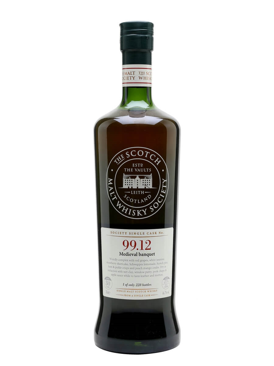 SMWS 99.12 (Glenugie) / 30 Year Old / Medieval Banquet