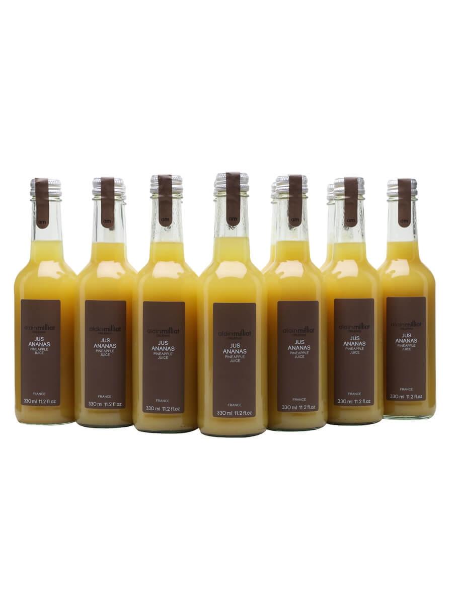Alain Milliat Pineapple Juice / Case of 12 Bottles