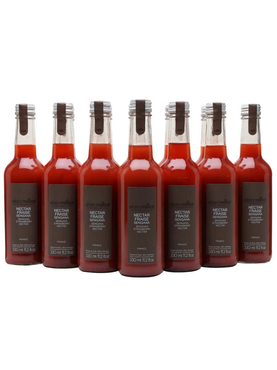 Alain Milliat Sengana Strawberry Nectar / Case of 12 Bottles