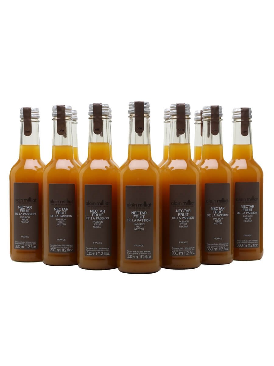 Alain Milliat Passion Fruit Nectar / Case of 12 Bottles