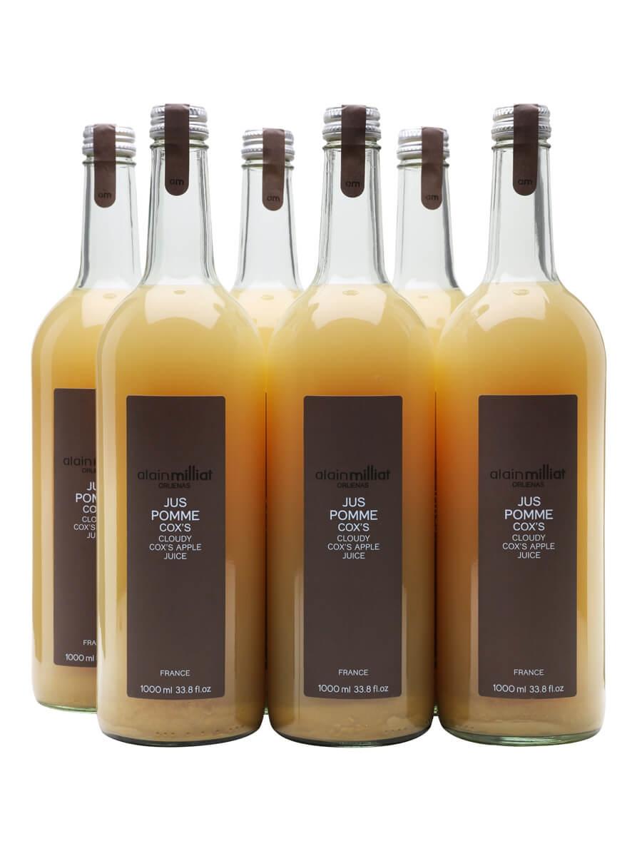 Alain Milliat Cox Apple Juice / Case of 6 Bottles