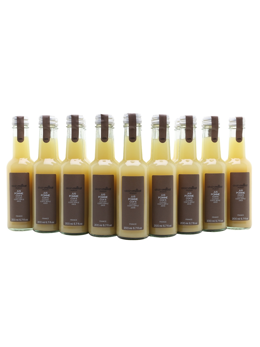 Alain Milliat Cox Apple Juice / Case of 20 Bottles