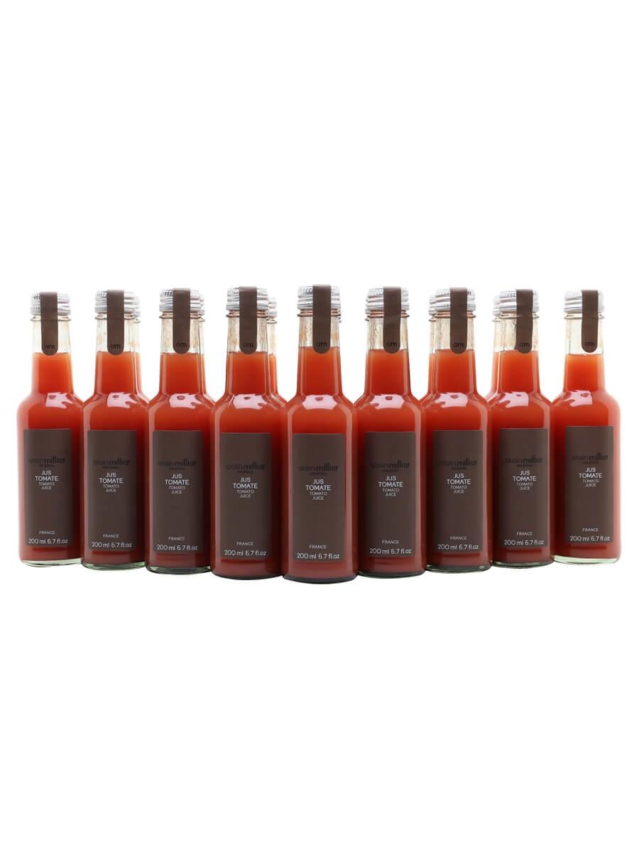 Alain Milliat Red Tomato Juice / Case of 20 Bottles