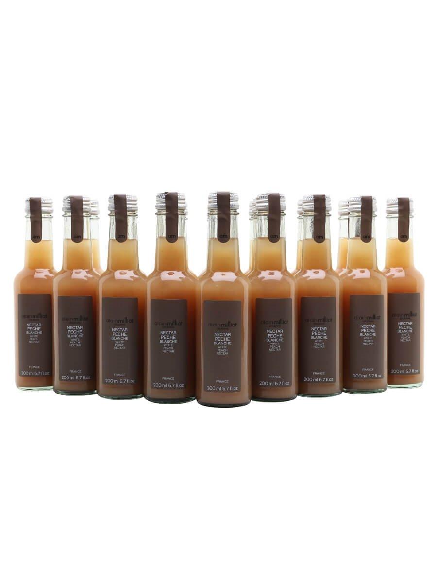 Alain Milliat White Peach Nectar / Case of 20 Bottles
