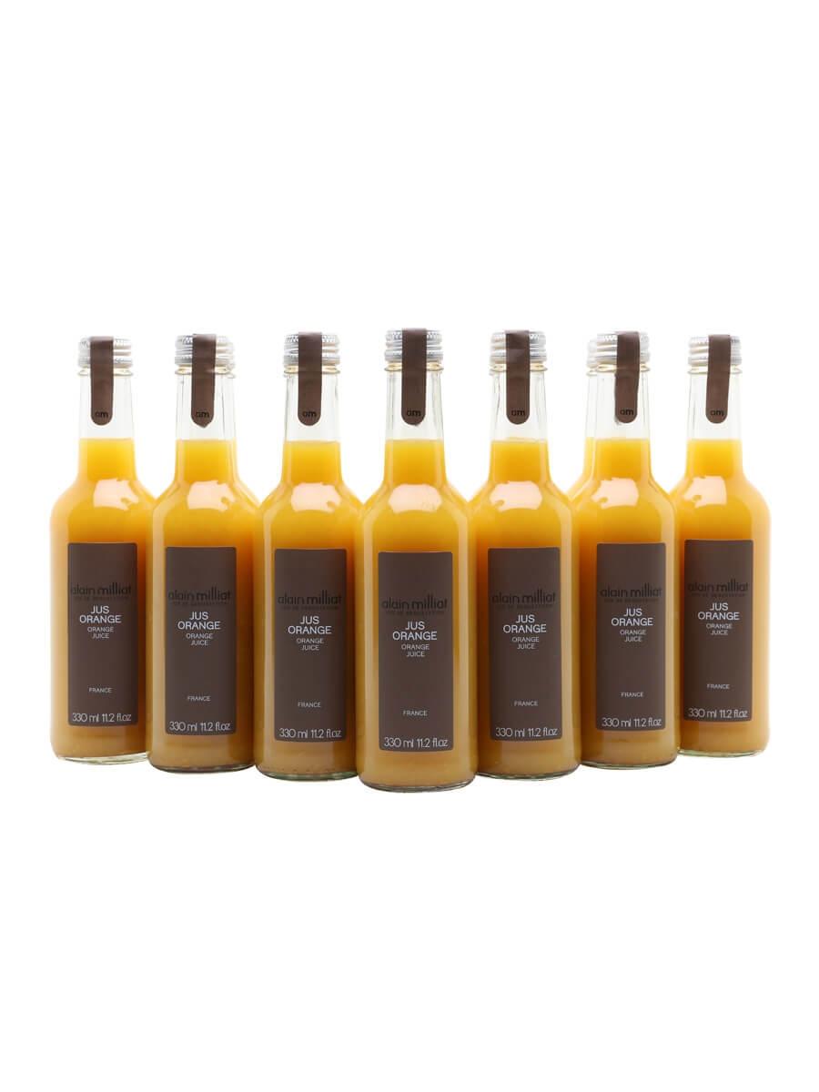 Alain Milliat Orange Juice / Case of 12 Bottles