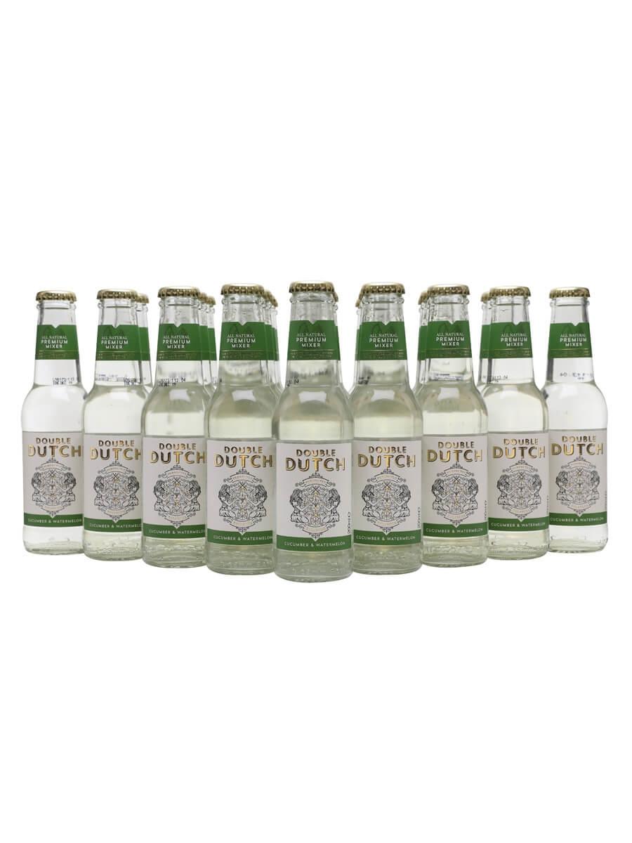 Double Dutch Cucumber & Watermelon / Case of 24 Bottles