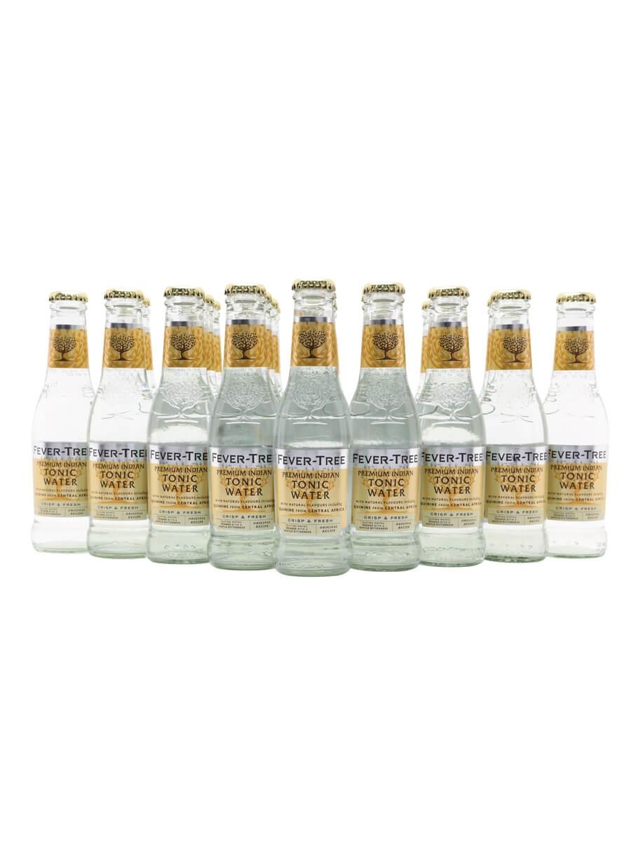 Fever-Tree Premium Indian Tonic Water / Case of 24 Bottles