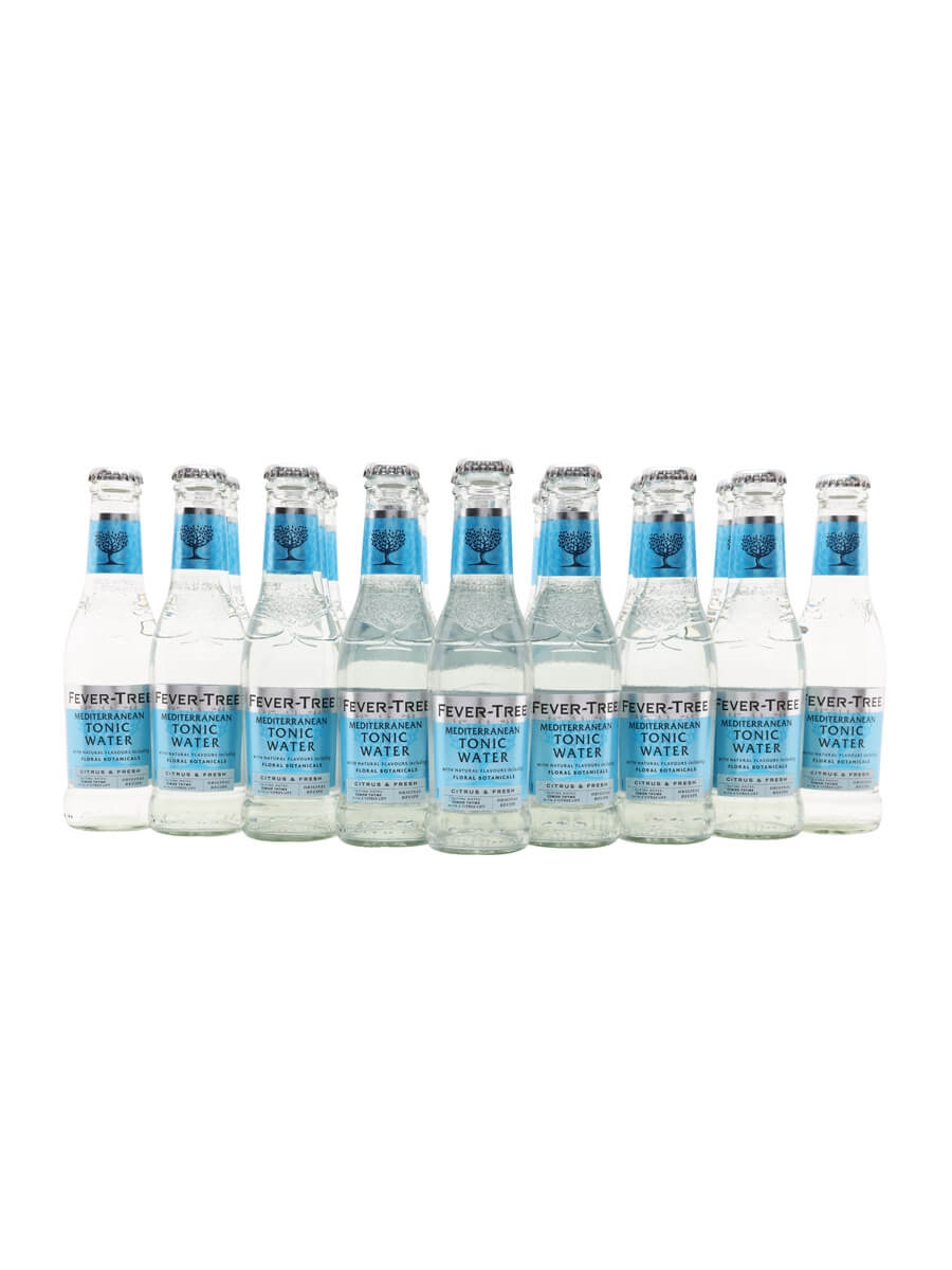 Fever-Tree Mediterranean Tonic Water / Case of 24 Bottles
