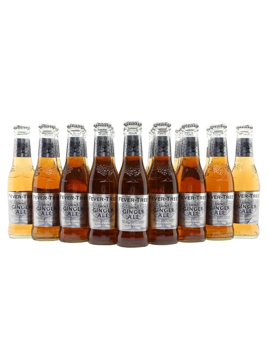 Fever-Tree Smoky Ginger Ale / Case of 24 Bottles
