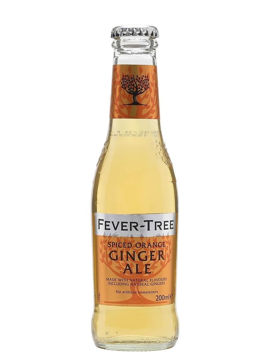 Fever-Tree Spiced Orange Ginger Ale / Single Bottle