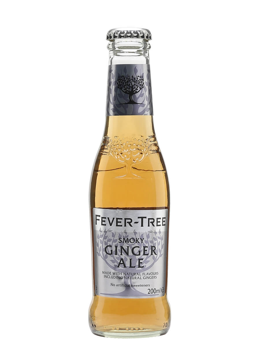 Fever Tree Smoky Ginger Ale Single Bottle The Whisky Exchange