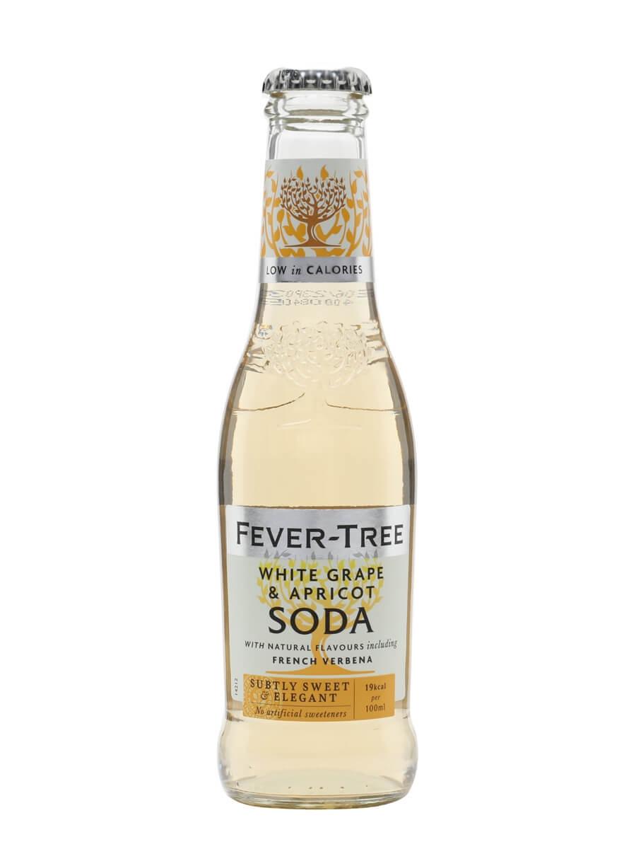 Fever-Tree White Grape and Apricot Soda / Single Bottle