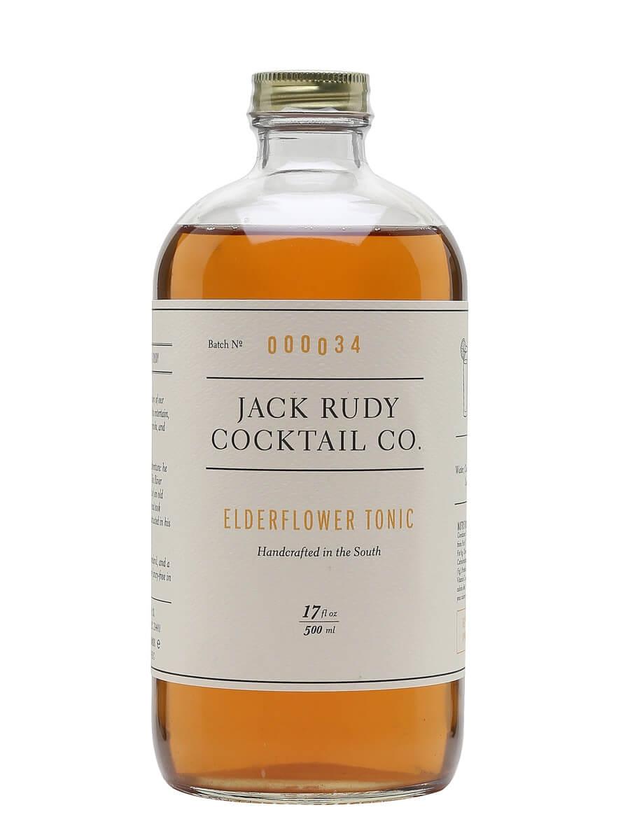 Jack Rudy Elderflower Tonic Syrup