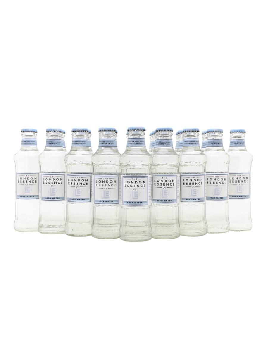 London Essence Soda Water / Case of 24 Bottles